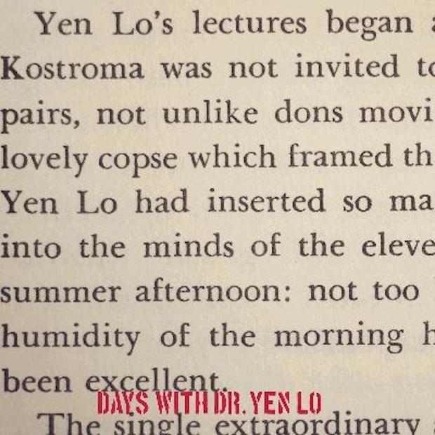 Dr Yen Lo - Days With Dr Yen Lo