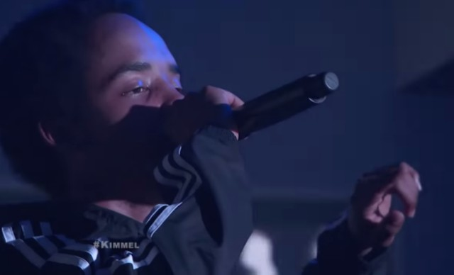 Earl Sweatshirt on Kimmel