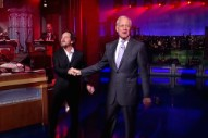 "Watch Eddie Vedder Sing ""Better Man"" For Letterman's Third-To-Last Show"
