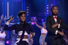 Janelle Monae and Jidenna on Fallon