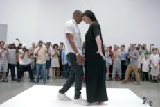 Jay Z and Marina Abramovic