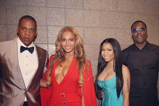 Jay-Z and Nicki Minaj