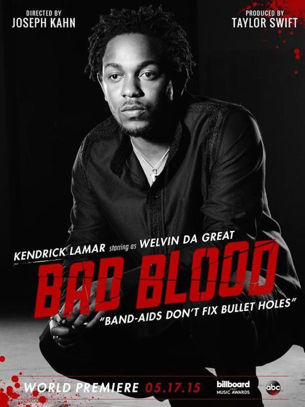 Kendrick Lamar in Bad Blood