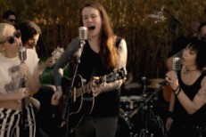 Miley Cyrus and Laura Jane Grace and Joan Jett