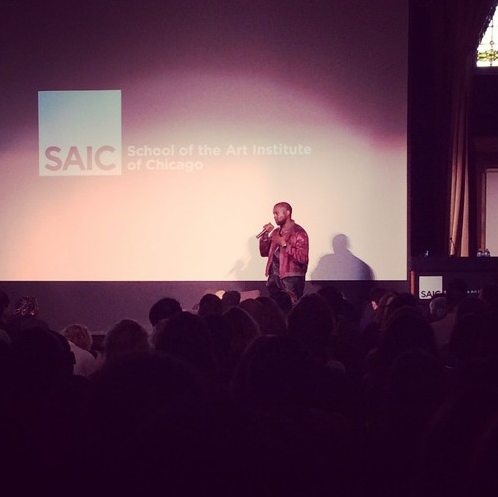 Hear Kanye West's Lecture At The School At The Art Institute Of Chicago