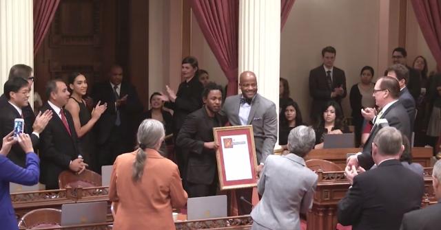 Watch California State Senate Honor Kendrick Lamar