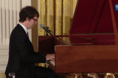 Watch Ben Folds Perform At Michelle Obama & Jill Biden's Mother's Day Tea