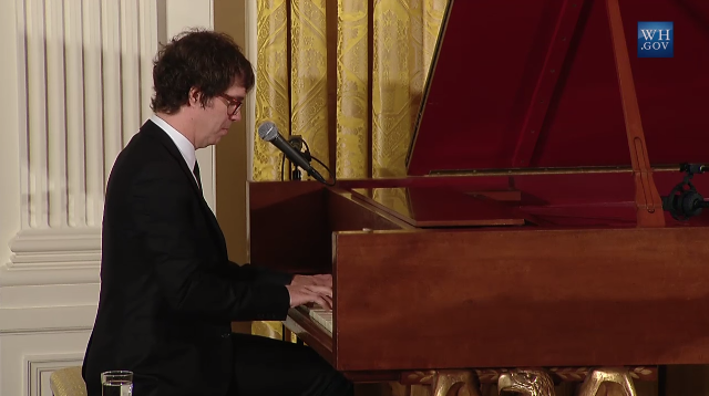 Ben Folds Mother's Day Tea Michelle Obama