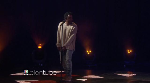 Kendrick Lamar Ellen These Walls