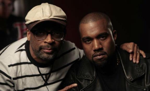 Spike Lee and Kanye West