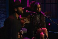 Watch Twin Shadow Cover Sade With Zoe Kravitz On <em>Late Night</em>, First Performance Since Bus Crash
