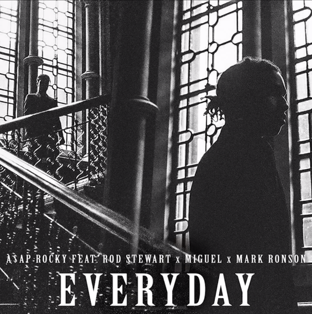 "A$AP Rocky - ""Everyday"" (Feat. Rod Stewart, Miguel, & Mark Ronson)"