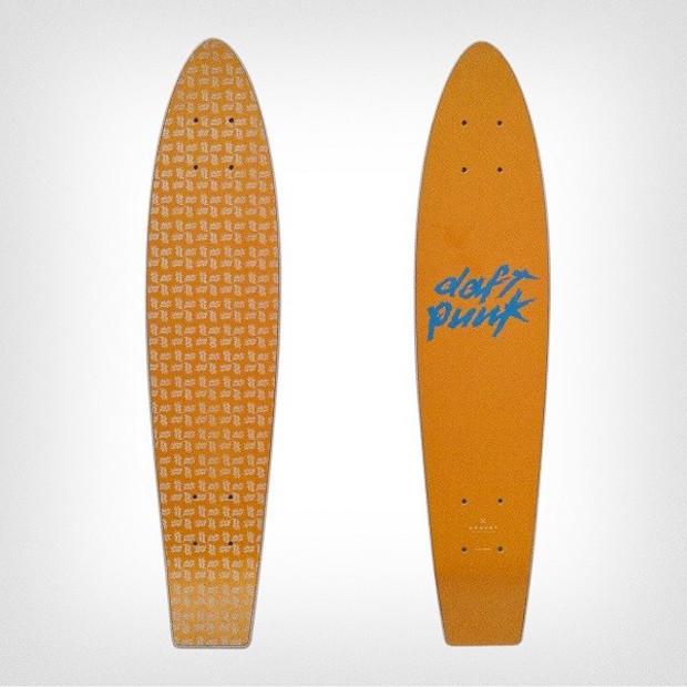 Daft Punk Release Limited-Edition Skateboard
