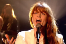 "Watch Florence + The Machine Perform ""Ship To Wreck"" On Graham Norton"