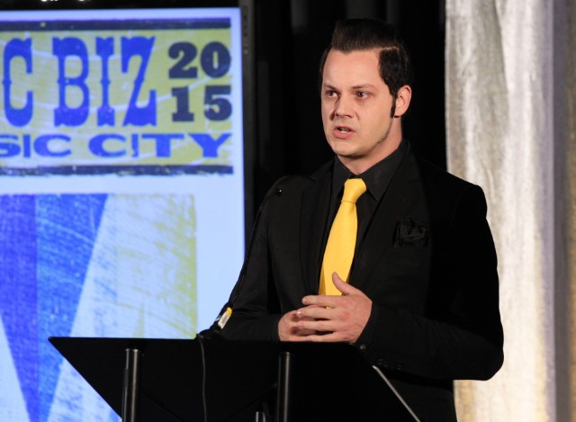 Jack White Gets 2015 Innovators Award At The Business Breakfast