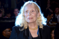 Joni Mitchell Reportedly Still In Very Serious Condition After Brain Aneurysm