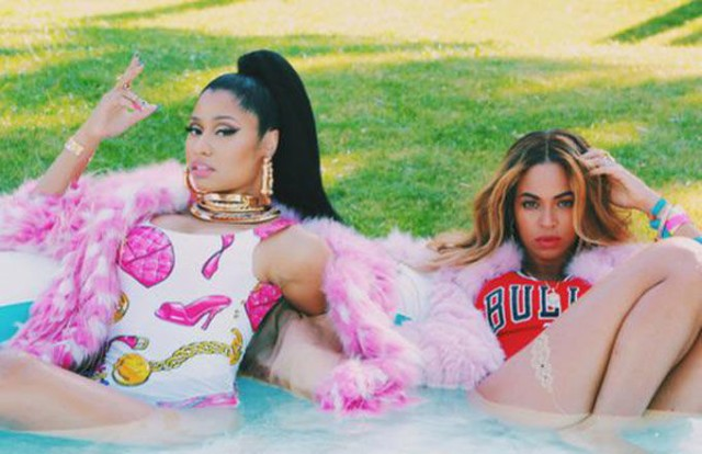 Nicki Minaj Beyonce Feeling Myself Video