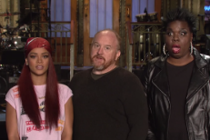 Watch Louis C.K. & Rihanna's Short But Sweet SNL Promo