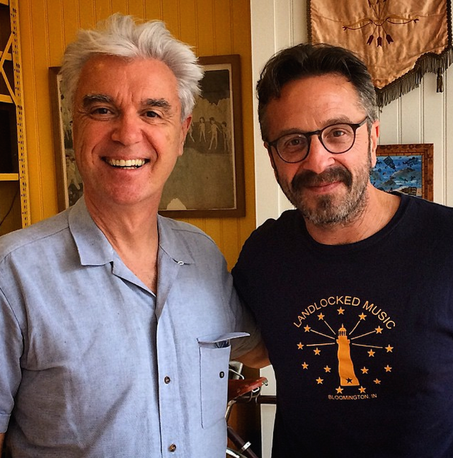 Listen To David Byrne On Marc Maron's WTF