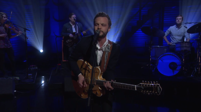 "Watch The Tallest Man On Earth's Elated ""Sagres"" Performance On Conan"