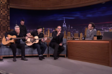U2 Have Rescheduled Their Cancelled <em>Tonight Show</em> Visit For Next Week