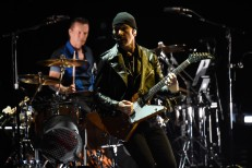 The Edge Falls Off The Stage