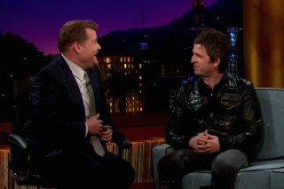 Watch Noel Gallagher Play <em>The Late Late Show</em>, Talk Oasis Fistfights
