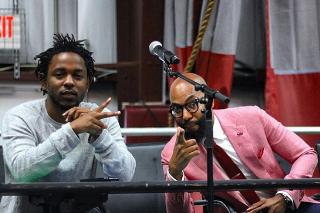 Watch Kendrick Lamar Visit The High School Class That Studied <em>To Pimp A Butterfly</em>