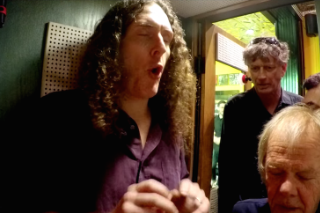 Watch Weird Al Record A Song In Third Man Records' Voice-O-Graph Booth