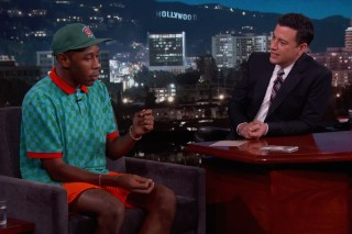 Watch Tyler, The Creator Tell Jimmy Kimmel About Getting Fired From Starbucks