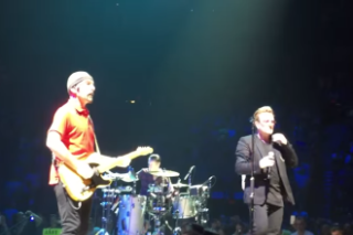"Watch U2 Play ""Lucifer's Hands"" Live For The First Time, ""One"" Dedicated To Arcade Fire"