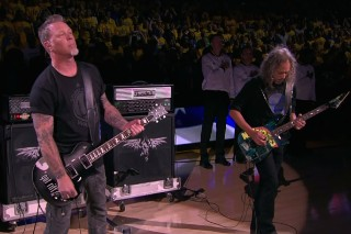 Watch Metallica Play The National Anthem Before NBA Finals Game 5