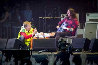 Foo Fighters Cancel Glastonbury; Read Dave Grohl's Letter To Fans (And Kanye)
