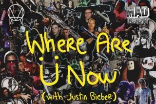 "Jack Ü – ""Where Are Ü Now (Rustie Remix)"" (Feat. Justin Bieber)"