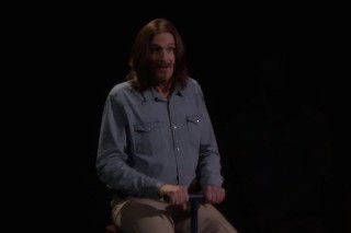 James Taylor Celebrates First #1 Album By Sitting On A Seesaw With James Taylor