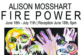 Alison Mosshart Opens First Solo Art Exhibition