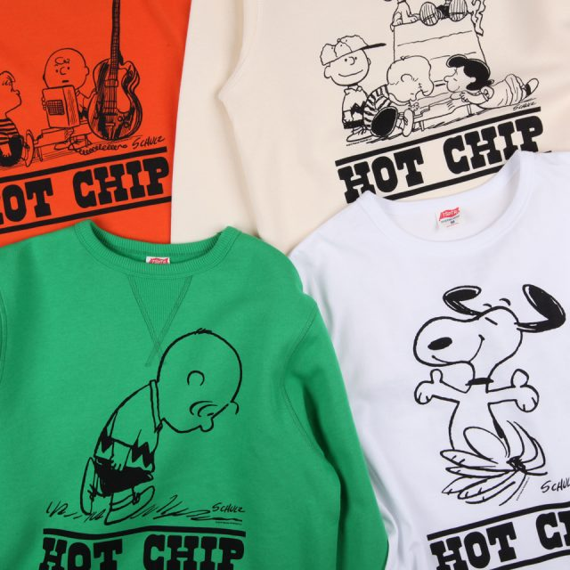Hot Chip Launch Peanuts Merch