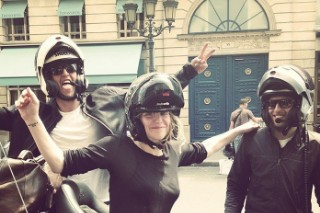 Courtney Love Attacked By French Uber Protesters