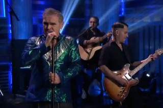 Watch Morrissey Return To American TV On <em>The Tonight Show</em>