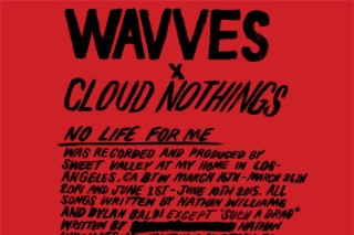 Stream Wavves x Cloud Nothings Surprise Album <em>No Life For Me</em>