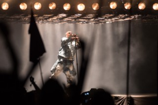 "Watch Kanye's Full Glastonbury Set, Feat. Justin Vernon, A Stage Crasher, & ""Bohemian Rhapsody"""