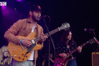 Watch Justin Vernon Also Join The Staves At Glastonbury