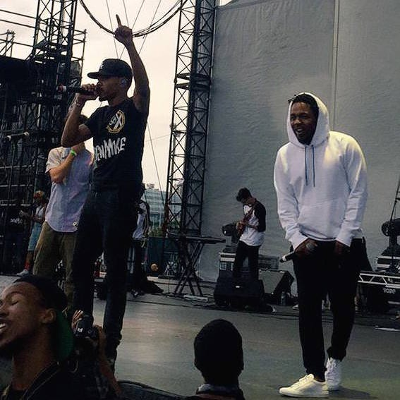 Watch Kendrick Lamar Join Chance The Rapper At TIP Fest