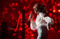 Watch Florence + The Machine Cover Foo Fighters While Filling In For Them At Glastonbury
