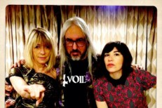 J Mascis and Kim Gordon