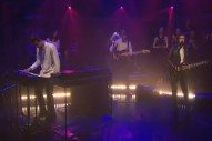 Watch Jamie xx Play <em>Seth Meyers</em> With Romy, Jehnny Beth, Caroline Polachek, More