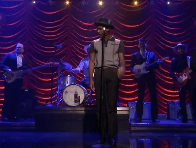 Leon Bridges on The Tonight Show
