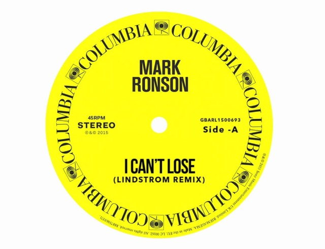 Mark Ronson - I Cant Lose Lindstrom Remix