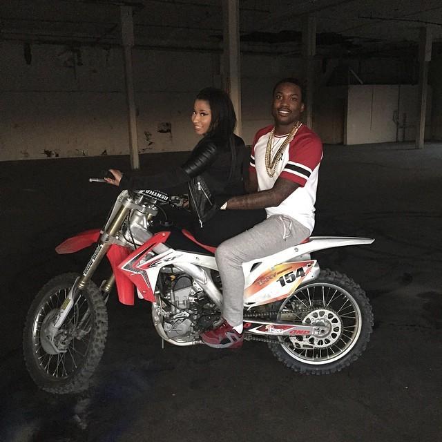 Nicki Minaj And Meek Mill All Eyes On You