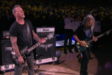 Metallica at the NBA Finals